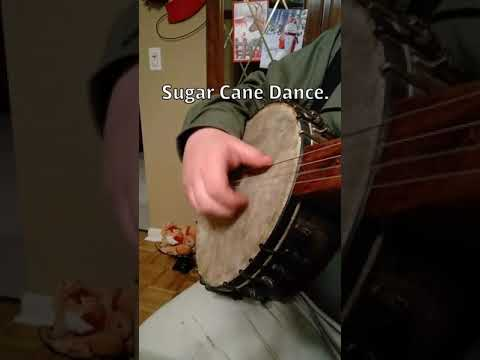 Sugar Cane Dance, played on the 1870s banjo.