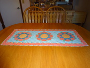Midnight Garden tablerunner