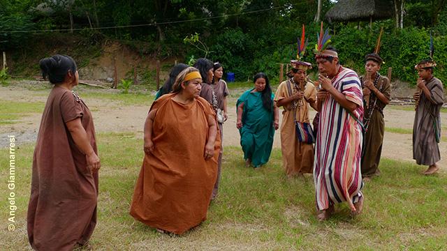 Viento de las alturas - Traditional dance from Ashaninka