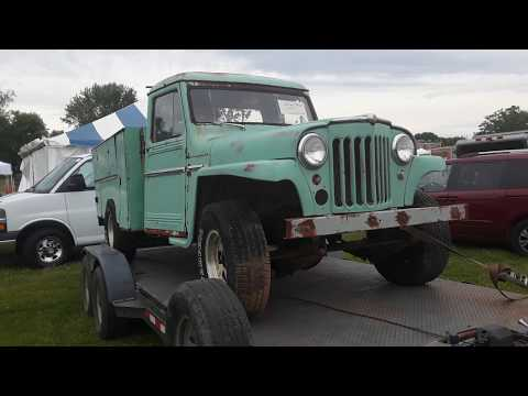 Swap Meet Safari With Pam  Willys Jeep Truck Junk Or Jewel?  At the 2020 Spring Carlisle