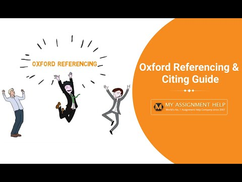 Oxford Referencing Generator - Referencing & Citing Guide