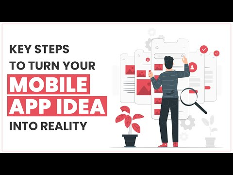 Key Steps To Turn Your Mobile App Idea Into Reality | Fluper
