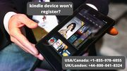Fix Kindle Device Won't Register Error | Call +1–855–978–6855