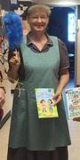 Hannah at Teacher Book Parade 2016