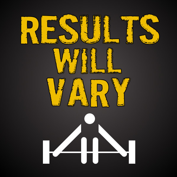 Results Will Vary