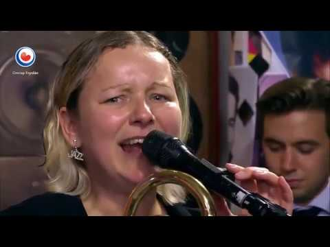 Bert Brandsma swing combo - Deed I Do -  TV Fryslan 2018, with Eric Ineke, Selena, Marco & Léon