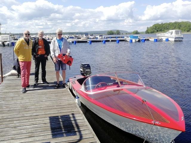 Jag med bröderna Inge och Kjell Andersson