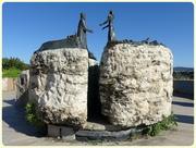 Kilátókő szobor, Buda királyfi és Pest királykisasszony...