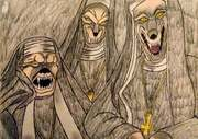 Werewolf Nuns from The Howling 3