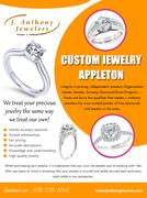 Custom Jewelry Appleton | 9207291642 | janthonyjewelers.com