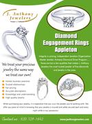 Diamond Engagement Rings Appleton | 9207291642 | janthonyjewelers.com
