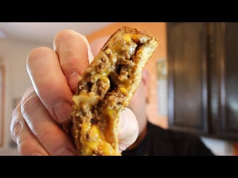 How to Make a Buffalo Sloppy Joe Grilled Cheese | It's Only Food w/ Chef John Politte