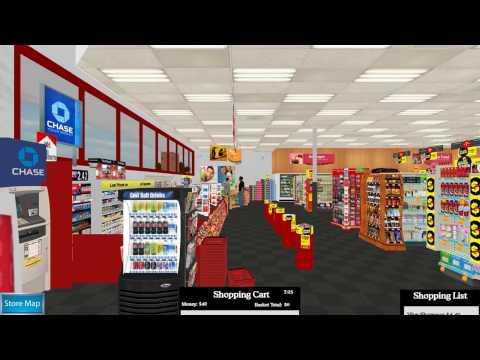 Virtual Environment Grocery Store (VEGS): Pharmacist 1