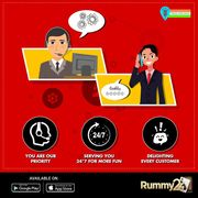 Full-Time Customer Support on Rummy24!