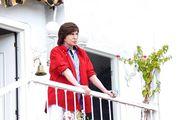 Mi amado en su balcón