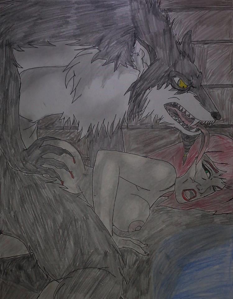 Black Metal Werewolf and Lesley Anderson