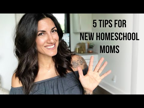 Tips for Beginner Homeschool Moms