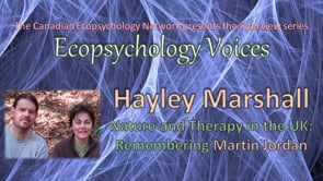Ecopsychology Voices Interview with Hayley Marshall