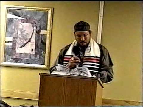 VTS 01 2 VARIOUS TEACHINGS OF MOWREH ELBENYAHUW IN 2007 PART 1B