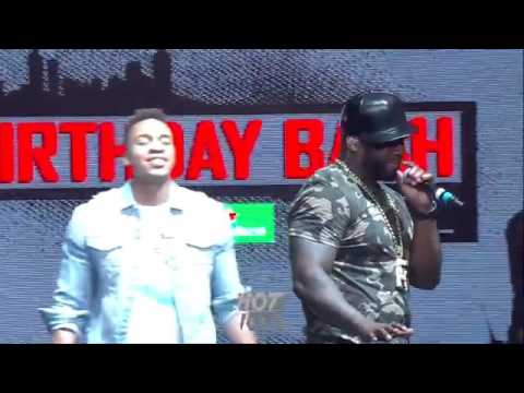 50 Cent Gets Mad 'Y'all Gone Kick Me Off Stage For T I & Jeezy'