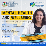 Mental Health and Well-Being of Professionals and Students in Academic Environments