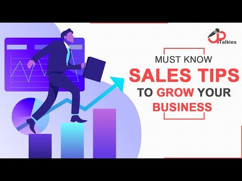 Must Know Sales Tips To Grow Your Business | Growth Tips | UpTalkies