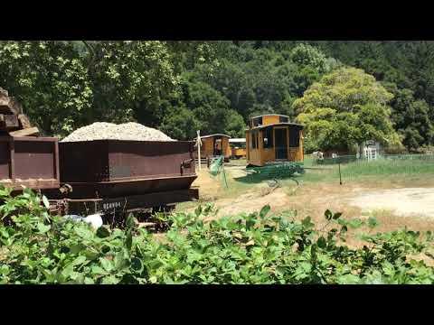 Roaring Camp shay locomotive @Felton, ca 7/9/20