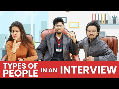 Types Of People In An Interview | UpTalkies