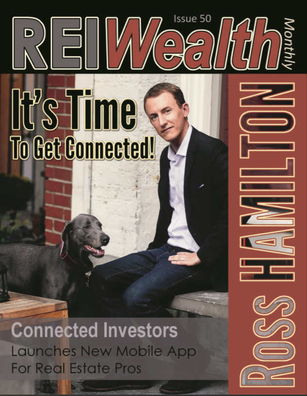 ROSS HAMILTON on the cover of REI Wealth Monthly