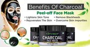 For Acne-Free Skin Use Charcoal Peel-Off Face Mask