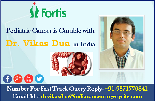 Pediatric Cancer is Curable with Dr. Vikas Dua in India