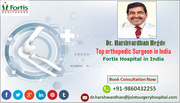 Dr. Harshwardhan Hegde Improving Musculoskeletal Health for All with Excellence in Innovative Care