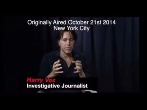 Investigative journalist Harry Vox