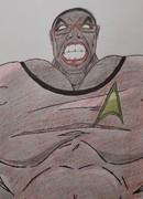 Ijola Fitts as Nutty Cracker aka Black She Hulk