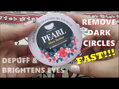 PETITFEE - koelf Pearl & Shea Butter Eye Patch 60pcs | Korean Skincare