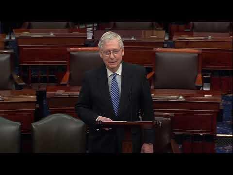 Mitch McConnell excoriates Democrats over stimulus demands