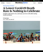 A Lower Covid Death Rate Is Nothing To Celebrate