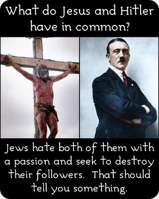 Jesus Christ and Adolf Hitler