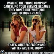 Stick to landline.