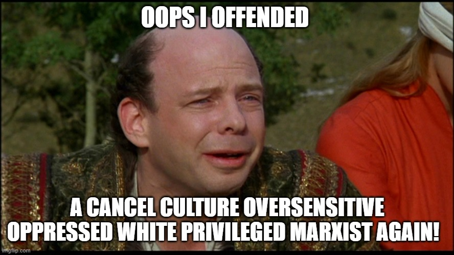 Oops Offended.