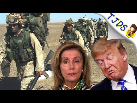 DEMOCRATS Prevent Trump Withdrawing Troops From Afghanistan!
