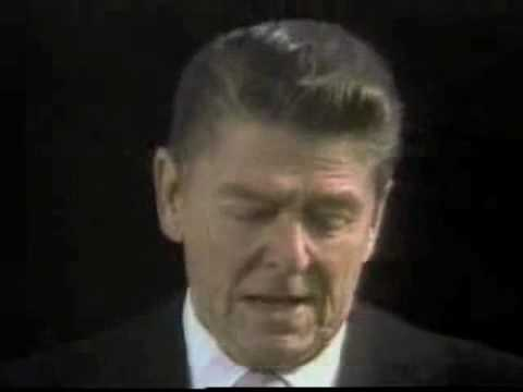 Ronald Reagan's First Inaugural Address - Martin Treptow