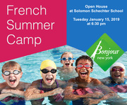 Bonjour NY French Immersion Summer Camp Open House UWS