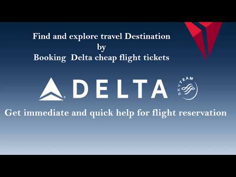 Book ticket & reservation Call Delta Airlines Reservation Phone Number