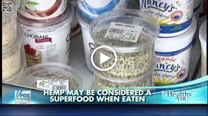 BUZZMEDIA257 HEMP MAY BE CONSIDERED A SUPER FOOD WHEN EATEN PIC