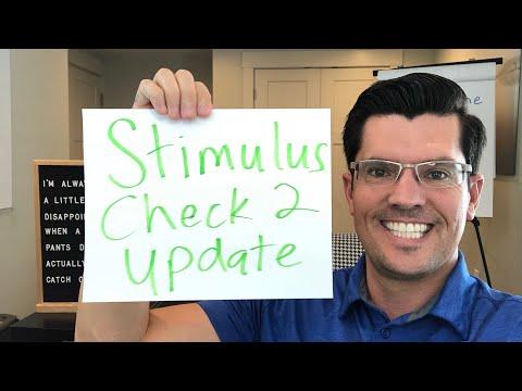 Stimulus Check 2 & Second Stimulus Package update 7/17