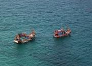 Two Boats in Phang Nga Bay