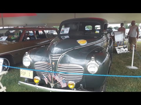 1941 Plymouth Sedan Delivery A Basement Find Original At the Chrysler Nationals