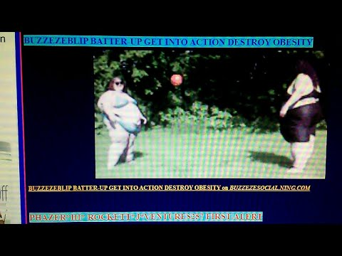 BUZZEZEBLIP BATTER-UP GET INTO ACTION DESTROY OBESITY
