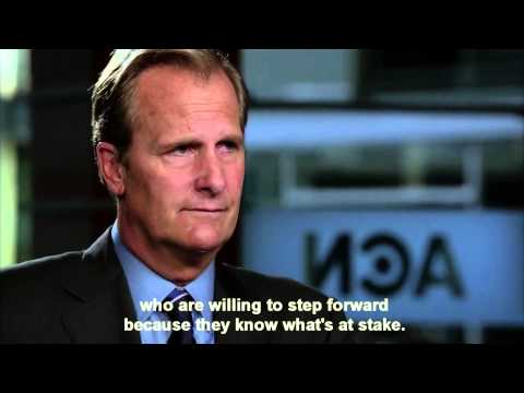 The Newsroom - Booing a Gay Soldier